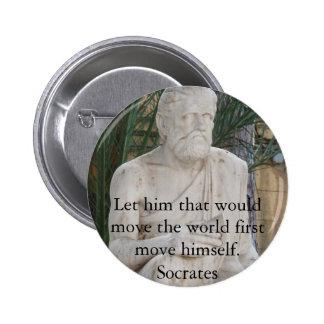 Cita de Sócrates Pin