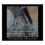 Cita de Tennessee Williams - POSTER