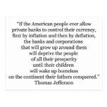 Cita de Thomas Jefferson (1) Postales