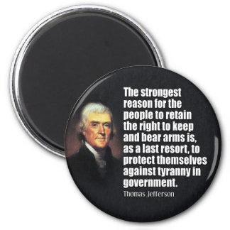 Cita de Thomas Jefferson Imanes