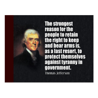 Cita de Thomas Jefferson Postales