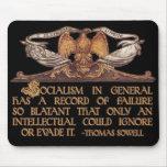 Cita de Thomas Sowell en socialismo Tapete De Raton