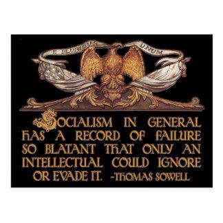 Cita de Thomas Sowell en socialismo Postal