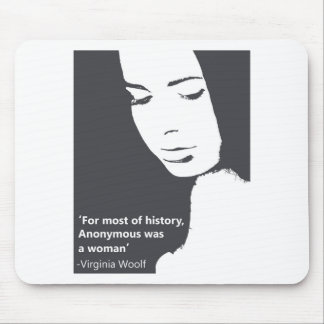 Cita de Virginia Woolf Alfombrilla De Ratón
