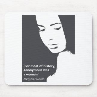 Cita de Virginia Woolf Mousepad