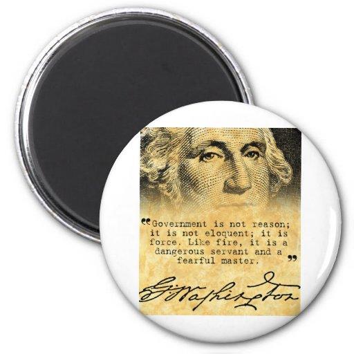 Cita de Washington - gobierno Imán Redondo 5 Cm