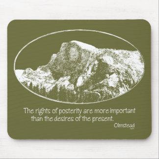 Cita de Yosemite Mousepad