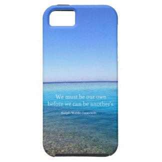 Cita del amor de Ralph Waldo Emerson iPhone 5 Fundas