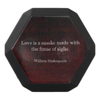 Cita del AMOR de William Shakespeare Romeo y de Altavoz Con Bluetooth