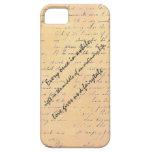 Cita del amor y del cuento de hadas iPhone 5 Case-Mate funda