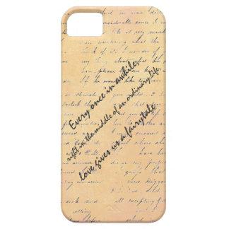 Cita del amor y del cuento de hadas iPhone 5 carcasa