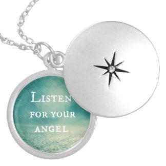 Cita del ángel pendiente