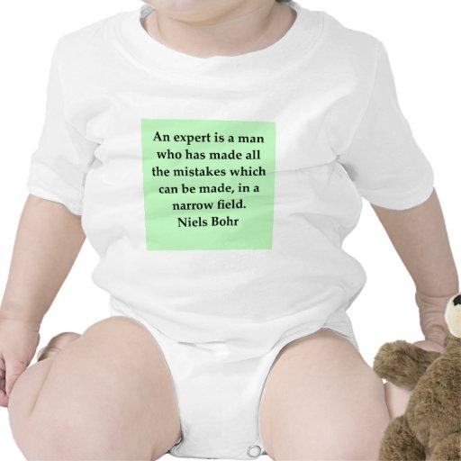 cita del bohr de los neils trajes de bebé