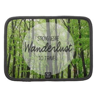 Cita del bosque del Wanderlust Organizadores