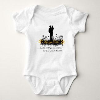 Cita del día de padre camisetas