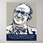 Cita del dinero de Rothbard Póster