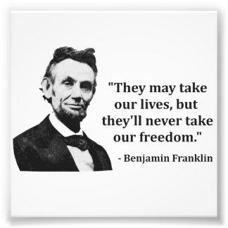 Cita del duende de Abraham Lincoln Fotografía
