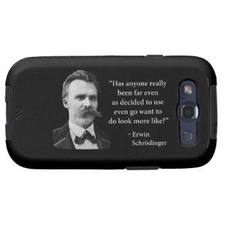 Cita del duende de Friedrich Nietzsche Galaxy SIII Carcasas