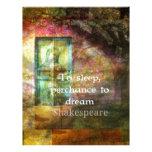 Cita del El sueño de una noche de verano de Shakes Plantilla De Membrete