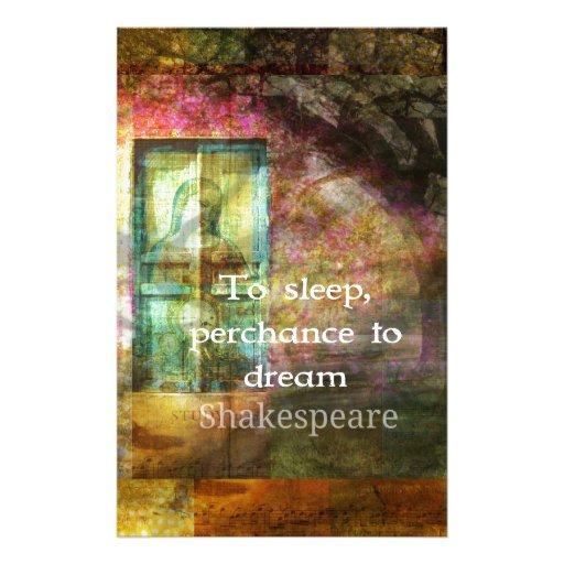 Cita del El sueño de una noche de verano de Shakes Papelería De Diseño