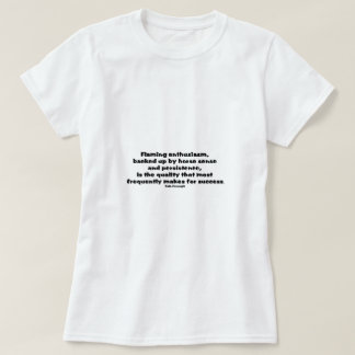 Cita del éxito camisas