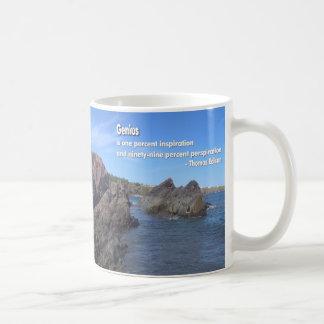 Cita del genio tazas de café
