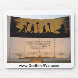 Cita del monumento/de Garfield de la barrera del j Tapetes De Ratones
