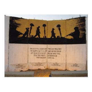 Cita del monumento/de Garfield de la barrera del Tarjetas Postales