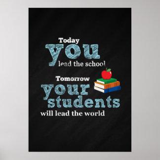 Cita del profesor póster