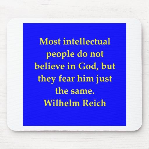 cita del Reich de Wilhelm Tapetes De Raton