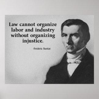 Cita del trabajo de Bastiat Impresiones