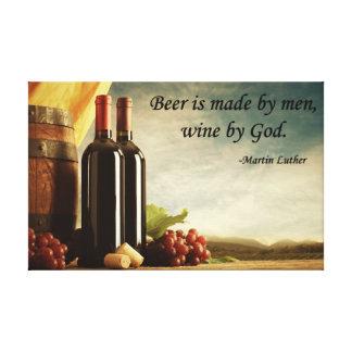 Cita del vino impresion en lona