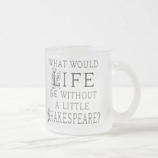 Cita divertida de la lectura de Shakespeare Taza De Cristal