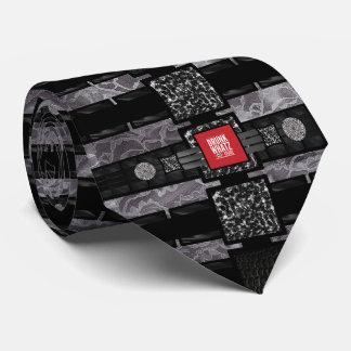 Cita divertida del cordón del leopardo corbata personalizada
