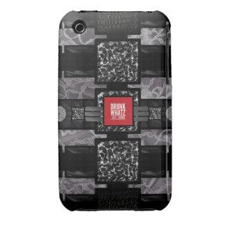 Cita divertida del cordón del leopardo iPhone 3 protector