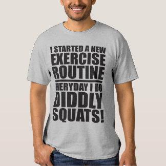 Cita divertida del gimnasio - posiciones en camisas