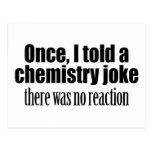 Cita divertida del profesor de la química - tarjeta postal