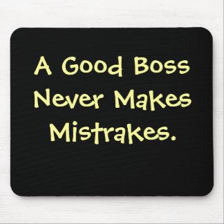 Cita divertida Mousepad de Boss