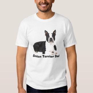 Cita doble y imagen de la camiseta del papá de remera