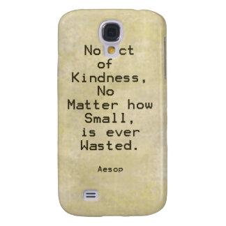 Cita Esopo de la compasión de la amabilidad