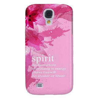 Cita espiritual inspirada abstracta rosada