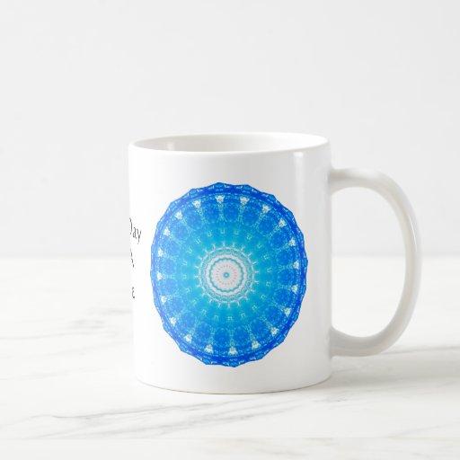cita espiritual inspirada - un día a la vez taza de café