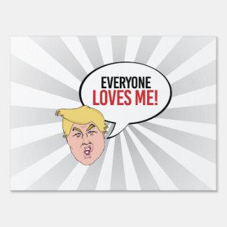 Cita estúpida del triunfo - cada uno me ama carteles