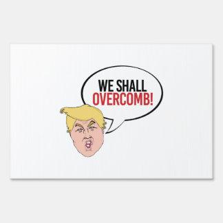 Cita estúpida del triunfo - overcomb carteles