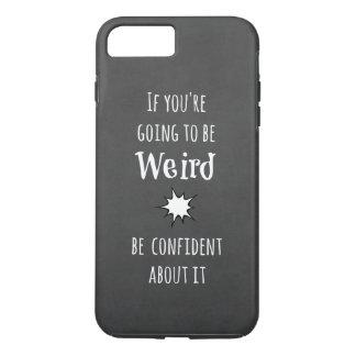 Cita extraña divertida funda iPhone 7 plus