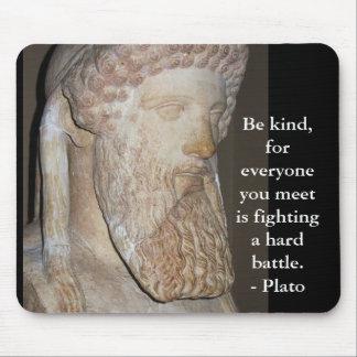 Cita famosa de Platón Tapetes De Raton