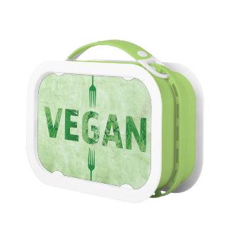Cita feliz del arte del texto del vegano -