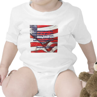 Cita grande del gobierno de Jefferson Camisetas