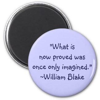 Cita imaginada Blake de Guillermo Imán Redondo 5 Cm