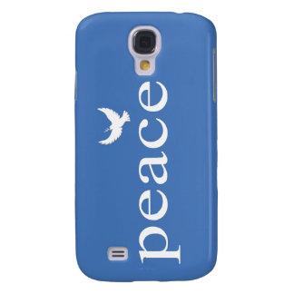 Cita inspirada azul de la paz
